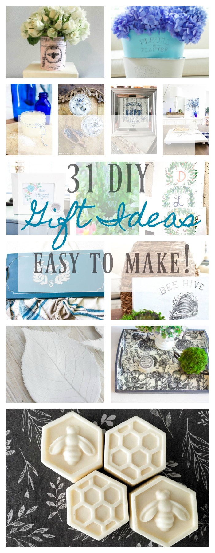 31 DIY Gift Ideas - Just Because