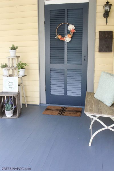 Spring Front Porch – New Look