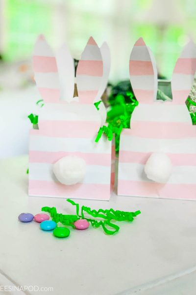 Easter Bunny Treat Bags – Easy to Make