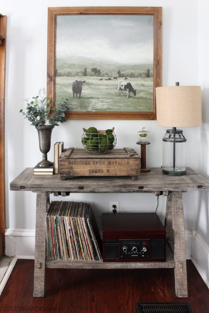Living Room Refresh farmhouse decor