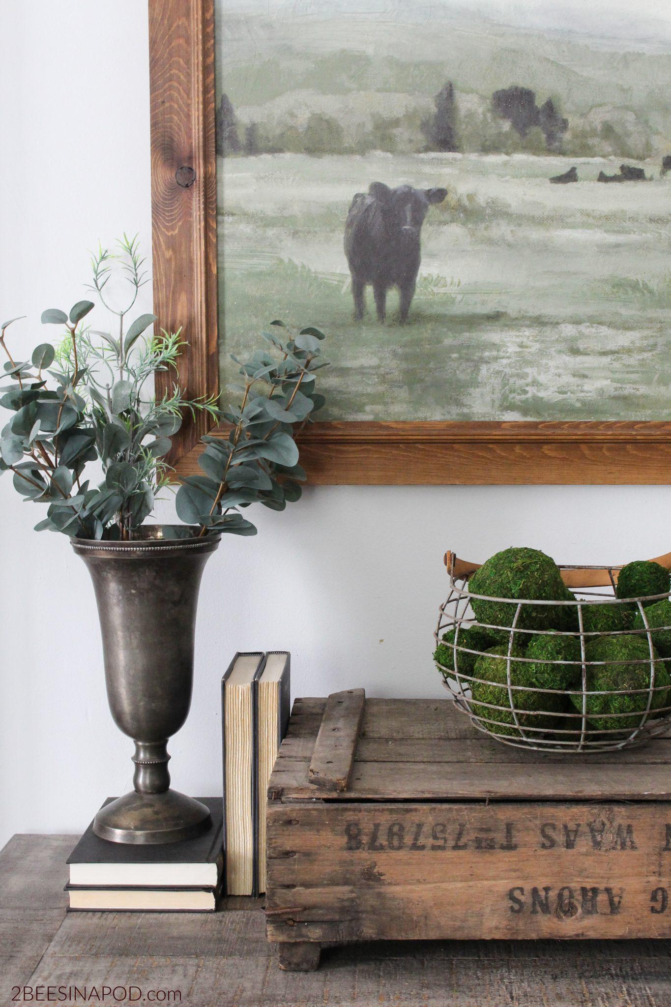 Living Room Refresh – Farmhouse Style