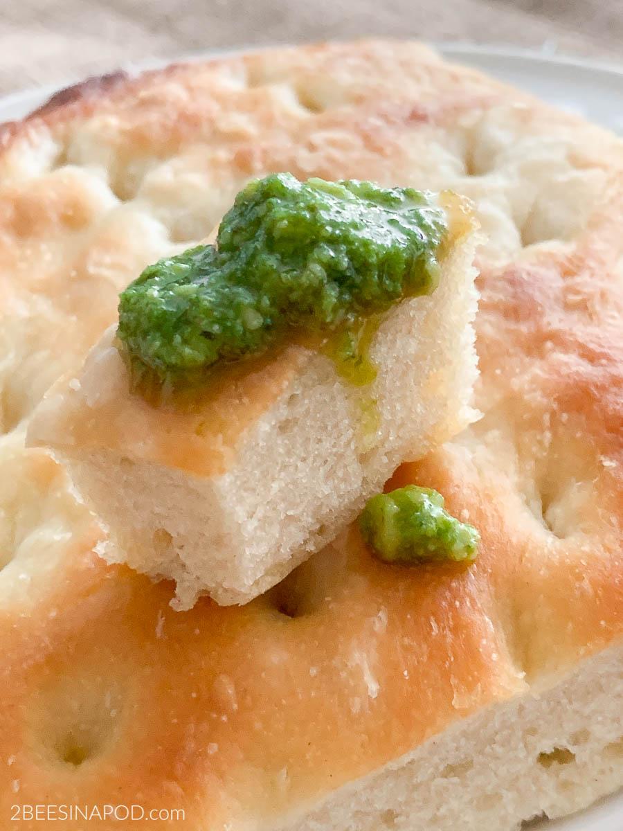 Homemade Focaccia Bread – Italian Sunday Supper