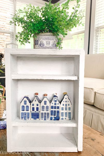 Painted Shelf Makeover – Thrifty Style Team