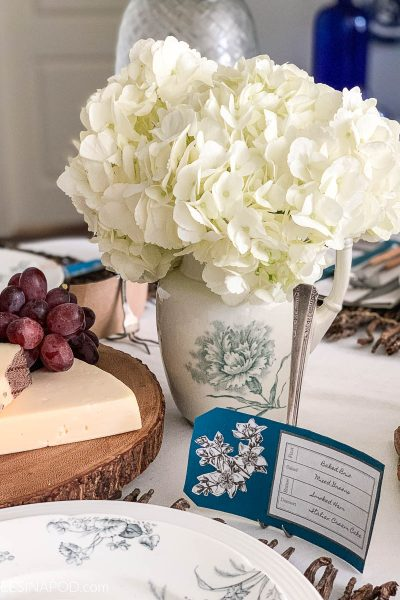 Spring Botanical Tablescape