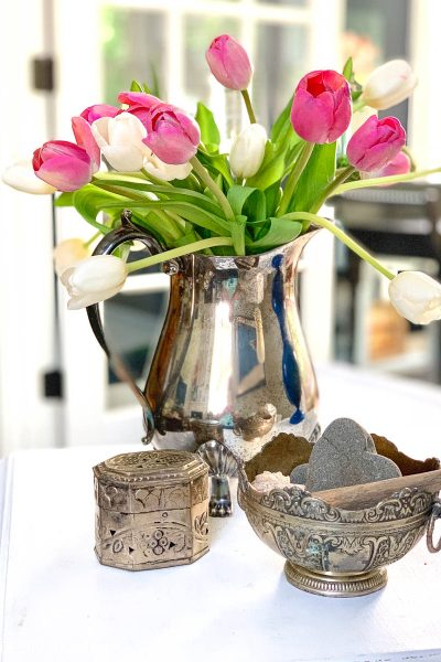 Decorating With Thrifted Silver – Thrifty Style Team
