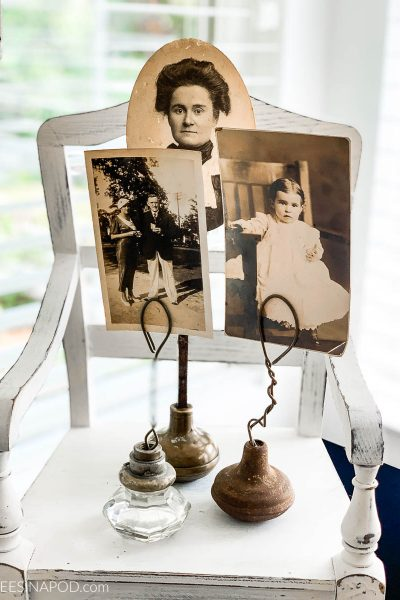 Vintage Door Knob Photo Holders – So Easy to Make
