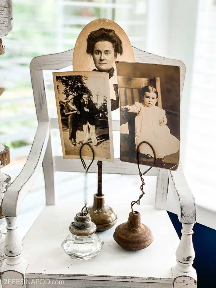 Vintage Door Knob Photo Holders - So Easy to Make