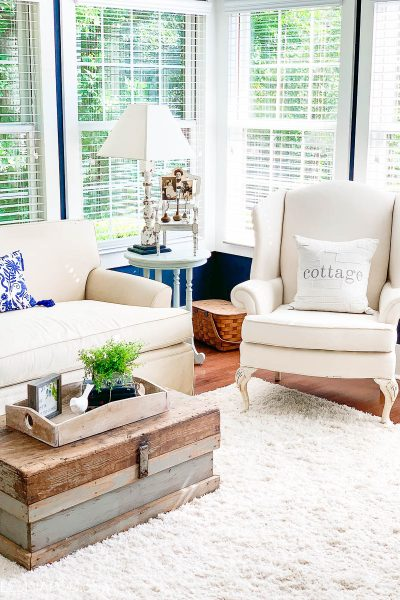 Summer Family Room Decor