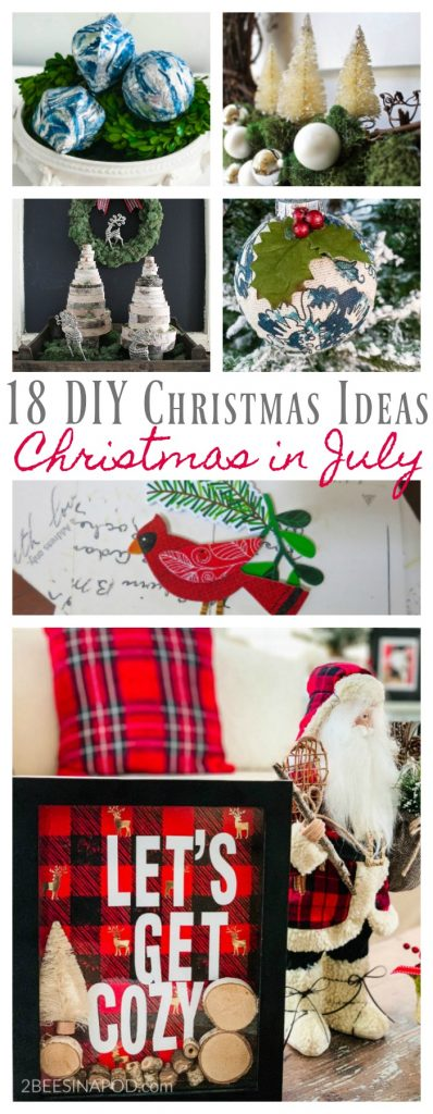 Christmas In July Ideas.18 Diy Christmas Ideas Christmas In July 2 Bees In A Pod