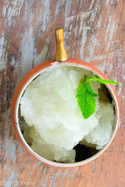 Frozen Moscow Mule Slushy Cocktail