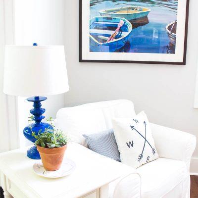 Summer Living Room Decor – Casual Comfort