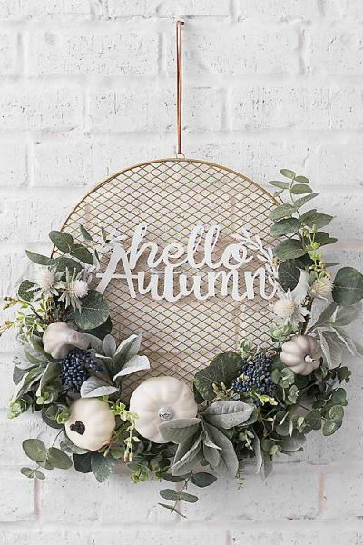 25 Fall Wreaths for Under $100