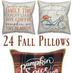Pillows for autumn