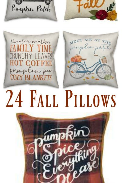 24 Fall Pillows