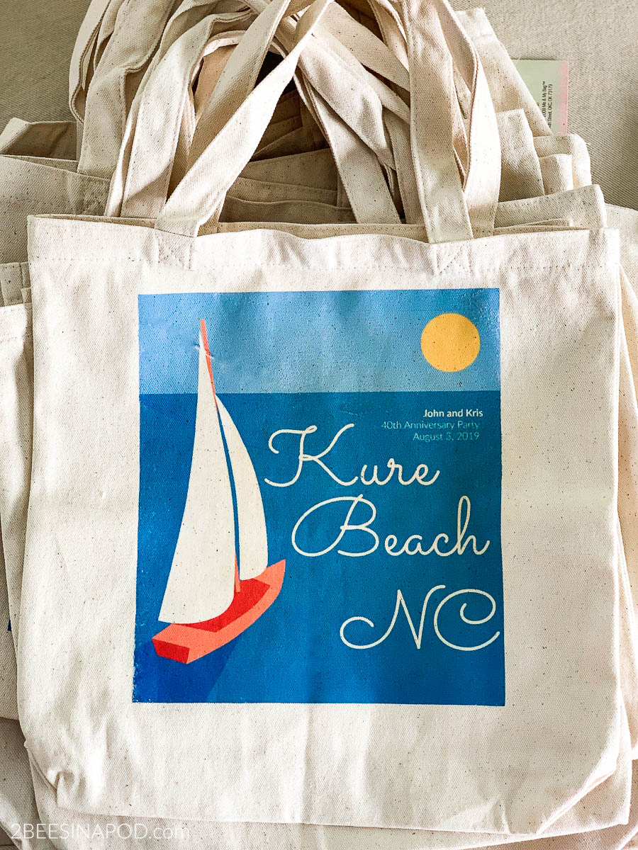 Diy Iron Transfer Canvas Tote Bags Perfect Party Favor Bag