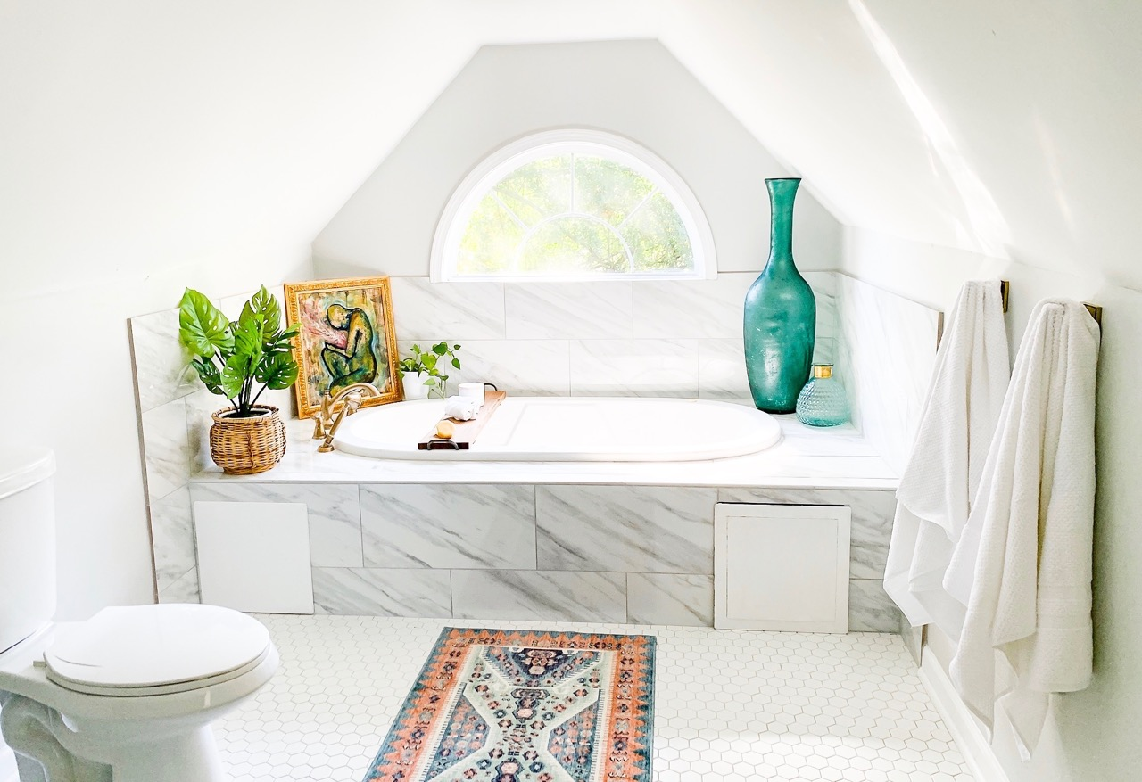 Guest Bathroom Makeover Reveal – One Room Challenge