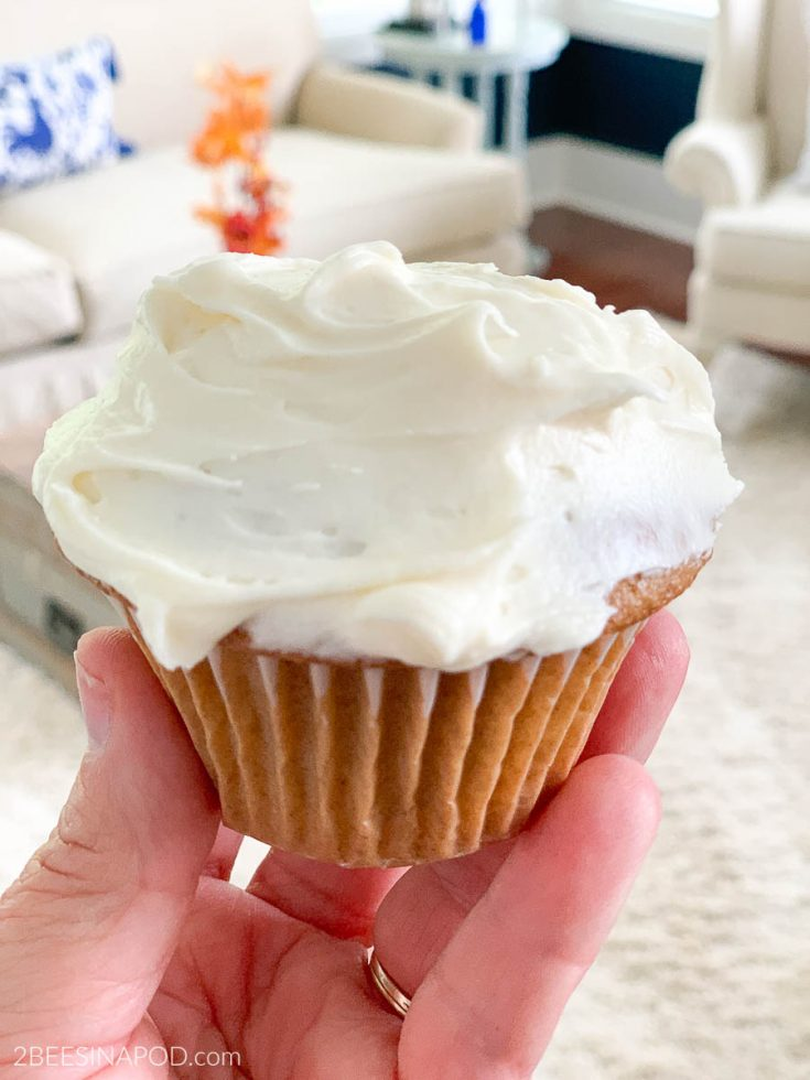 Spice Cupcakes and Cream Cheese Frosting