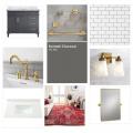 Guest Bathroom Makeover - One Room Challenge Week 1