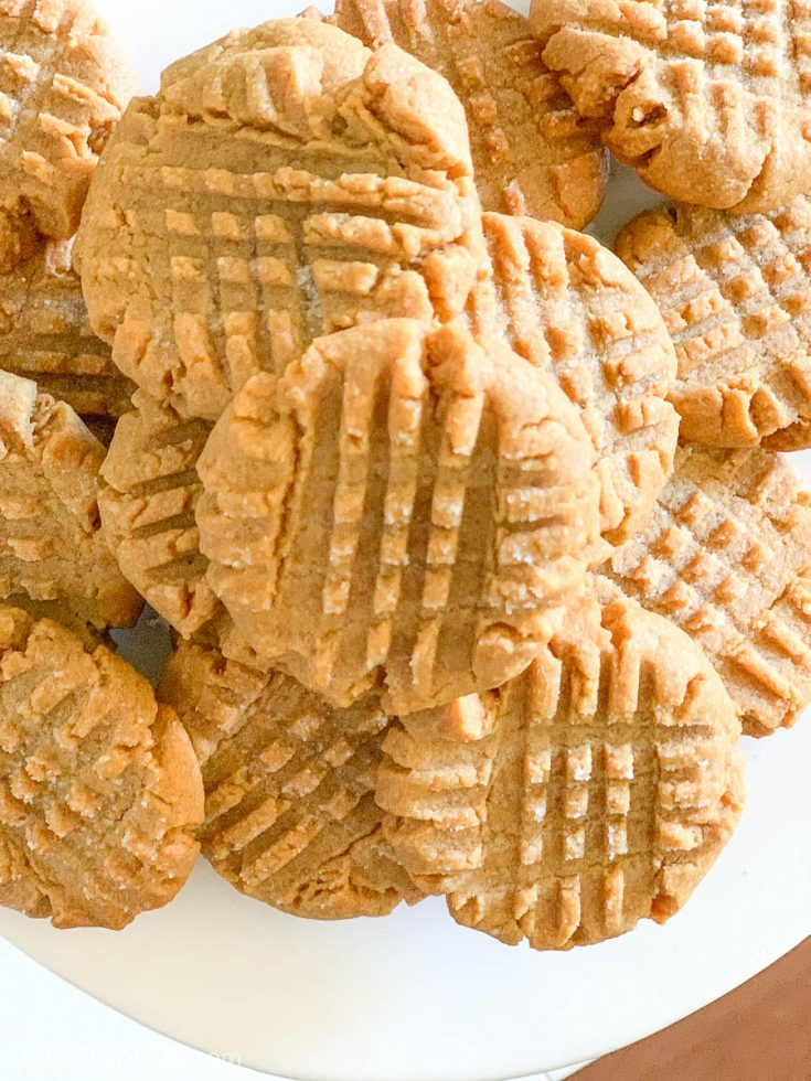 4 Ingredient Peanut Butter Cookie - No Flour