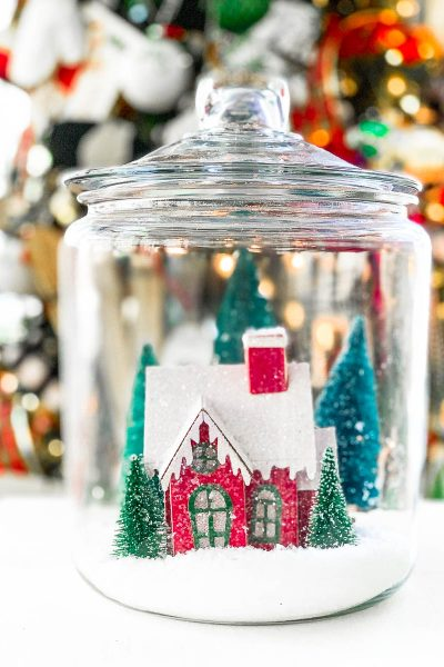 Christmas Cloche Centerpiece Ideas – Thrifty Style Team