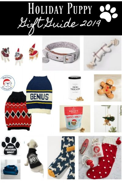 Holiday Puppy Gift Guide 2019 complete list
