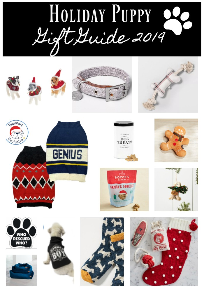 Holiday Puppy Gift Guide 2019