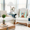 Spring Living Room Decor - easy to do