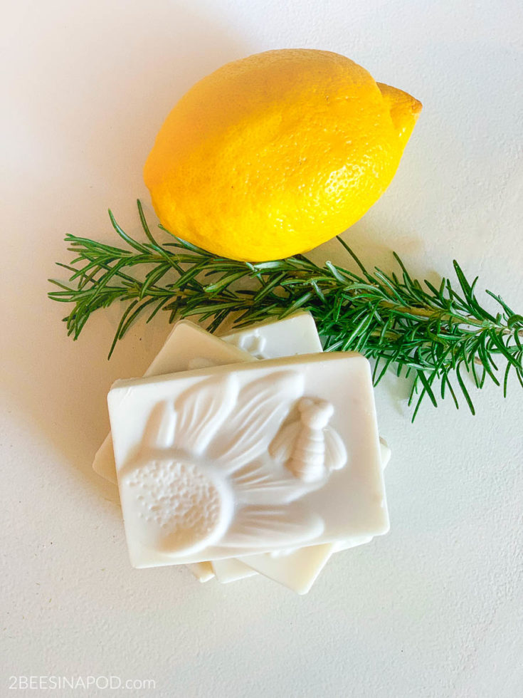 Rosemary Lemon Kitchen Soap