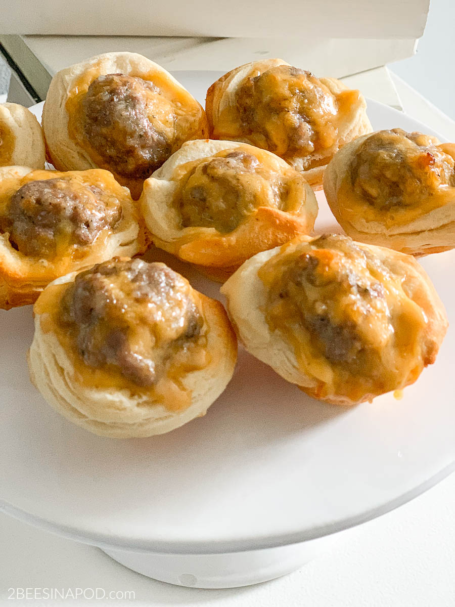 Sausage Biscuit Bites – Cheesy and Delicious