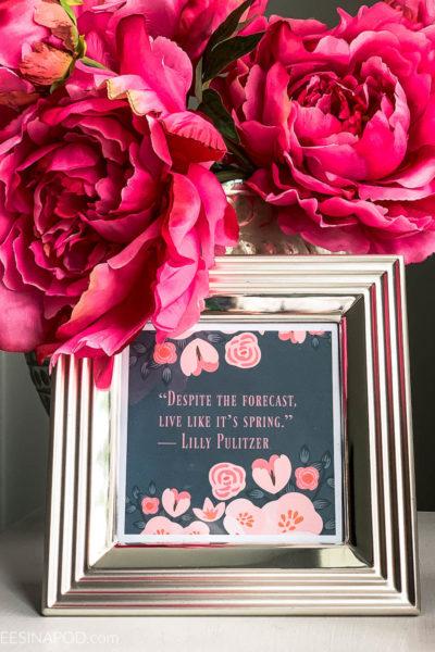 3 Inspirational Spring Printables