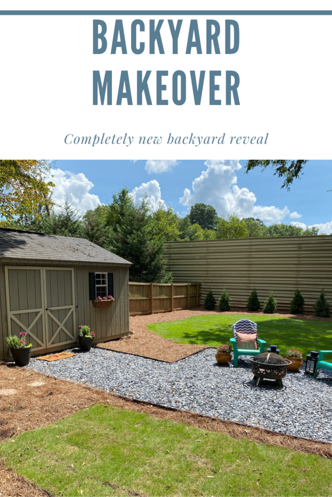 Reveal of the Backyard Makeover