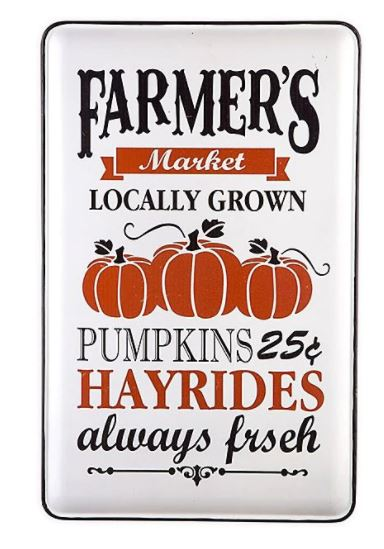 Vintage Pumpkin Patch Sign