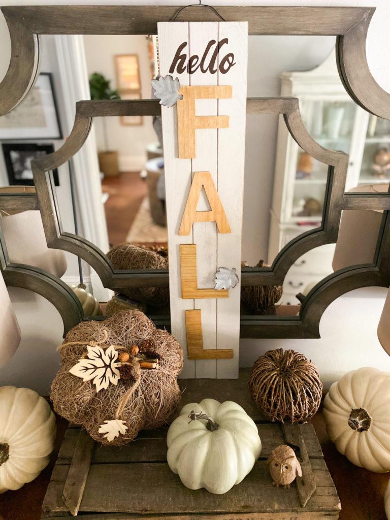 Fall Decor Sign