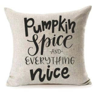 Fall Pillow - Pumpkin Spice