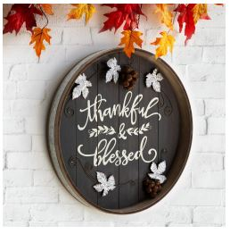 Thanksgiving Wall Sign