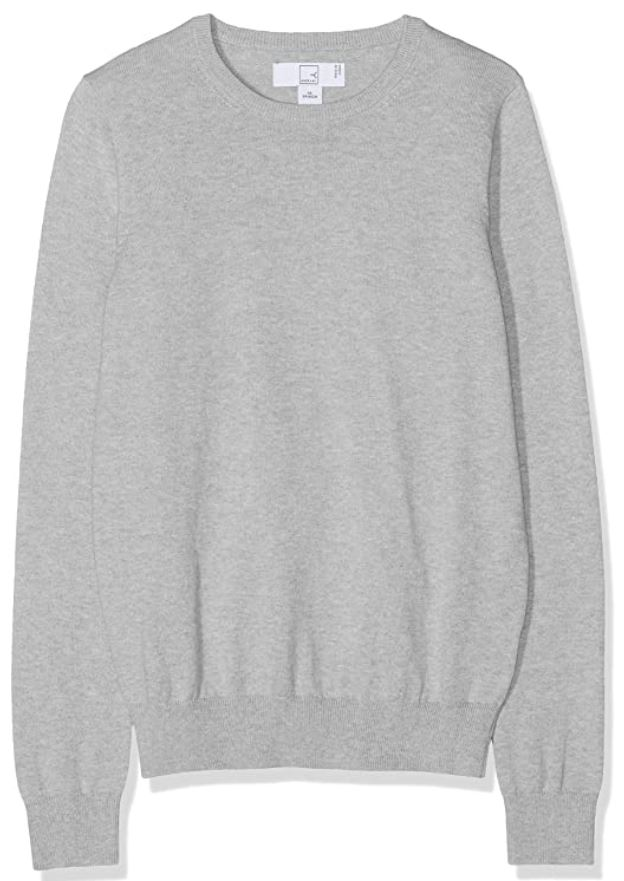 Basic solid cotton sweater - amazon prime day