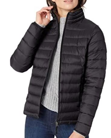 Black puffer jacket - amazon prime day