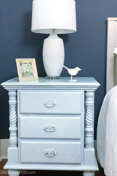 Painted Nightstands – French Blue