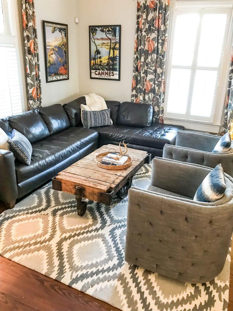 living room decor before