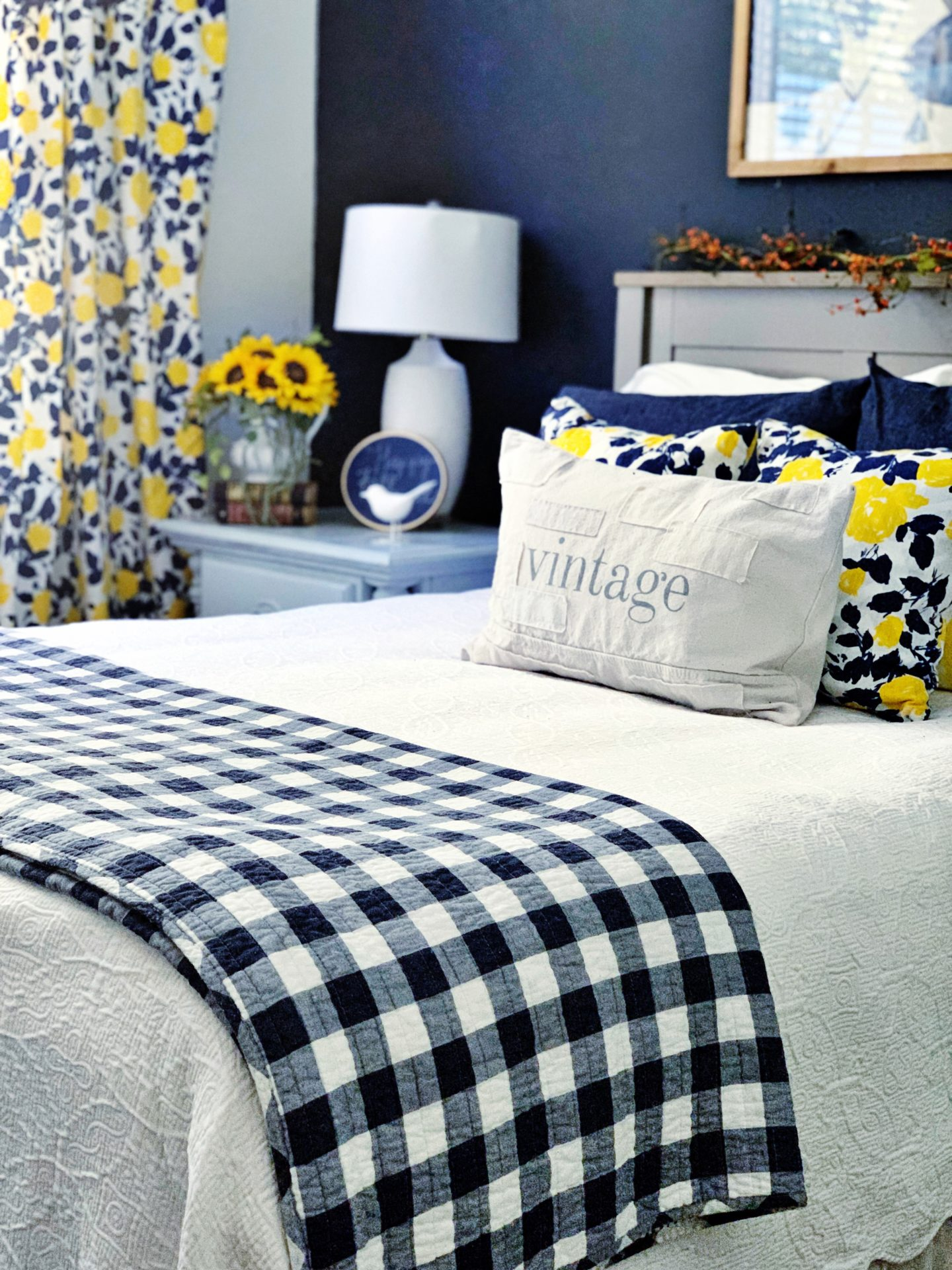 Guest Bedroom Makeover Ready for Fall