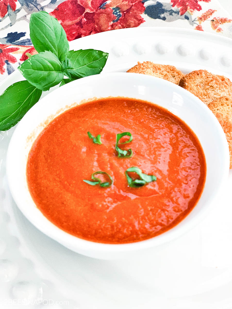 Simple Tomato Soup – Perfect for Fall