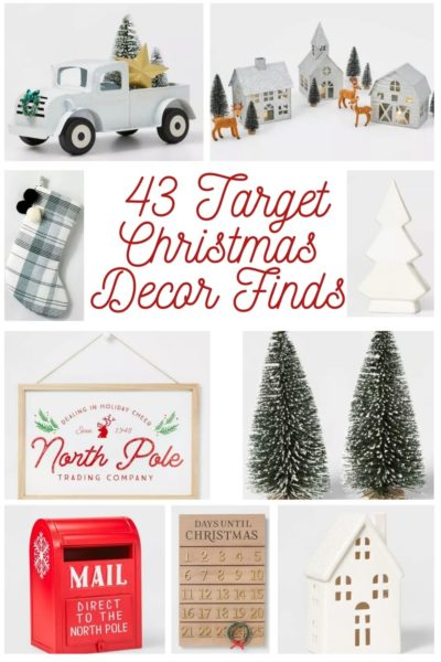 43 Affordable Target Christmas Decor Finds