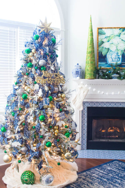 Blue and Green Christmas Tree – Christmas Tree Ideas