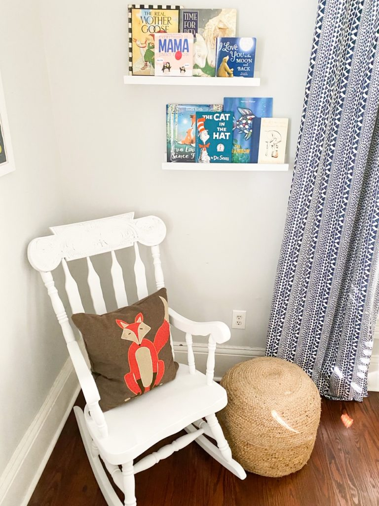 Nature theme nursery