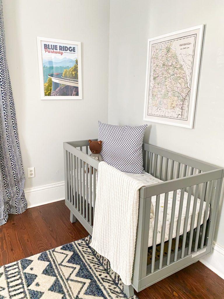 outdoor nursery reveal