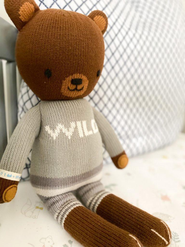 cuddle and kind doll - nursery reveal