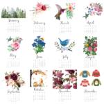 Free 2021 Calendar Printable