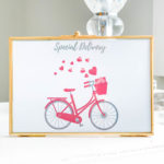 Free Valentine Printable - 3 Ways. Place a free Valentine Printable in a frame