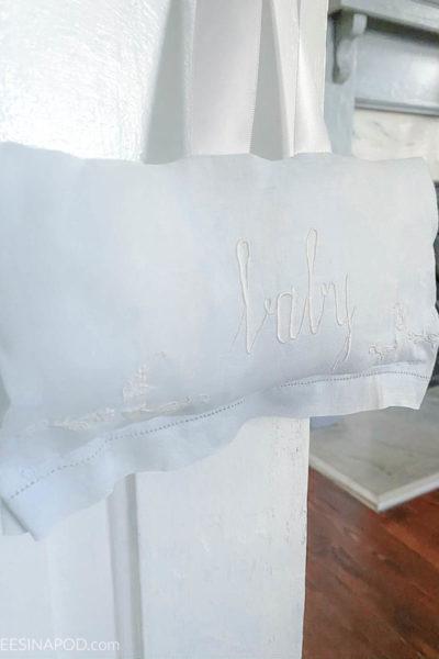 Repurposed Vintage Tea Towel – Thrifty Style Team