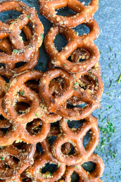 Easy Ranch Pretzels Recipe